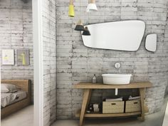 Our stunning Mayotica Perla tile, great for bathrooms comes in 30 x 60