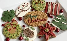 Holiday Cookies Archives - The Sweet Adventures of Sugar Belle Cute Christmas Cookies, Yummy Cookies, Holiday Cookies, Christmas Desserts, Christmas Baking, Sugar Cookies, Cookies Et Biscuits, Merry Christmas, Country Christmas
