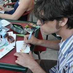 making postcards