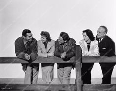 Clark Gable Claudette Colbert Spencer Tracy Hedy Lamarr Frank Morgan Boomtown 727-32