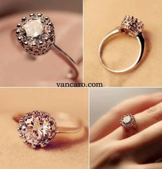 Princess Crown Ring !!!!!!!!!!!! I NEED one of these!!!!!
