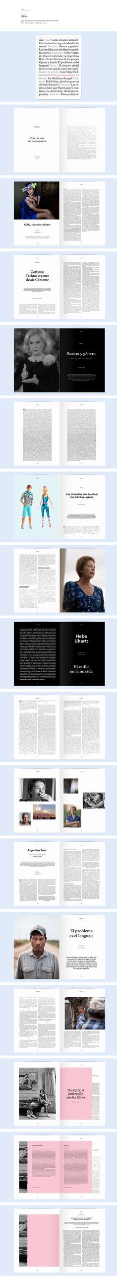 Revista Dale. on Behance