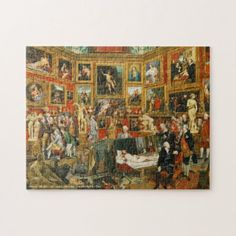 Paintings in a Room Vintage Art Family Indoor Game Jigsaw Puzzle #jigsaw #puzzle #jigsawpuzzle Family Games Indoor, Indoor Games, Custom Gift Boxes, Customized Gifts, Custom Gifts, Vintage Art, Vintage World Maps, Custom Jigsaw Puzzles, Make Your Own Puzzle