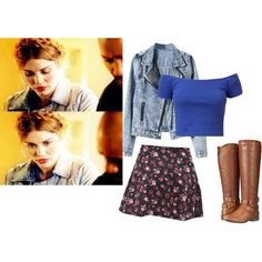 Lydia Martin Style #2 by kadiskreations on Polyvore featuring Forever 21, Madden Girl, Hipster, Boots, TeenWolf and LydiaMartin