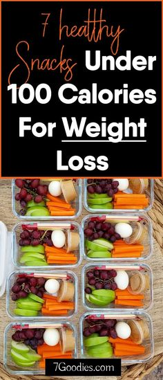7 Healthy Snacks Under 100 Calories For Weight Loss Low calorie snack ideas for weight loss Low Calorie Lunches, Low Calorie Recipes, Healthy Recipes, Healthy Low Calorie Snacks, 100 Calorie Meals, Low Calorie Diet, Healthy Options, Eat Healthy, Weight Loss Meals