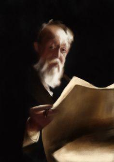 Anders Zorn Study - Mr. Thomas Wheeler #AndersZorn #Art #Artwork