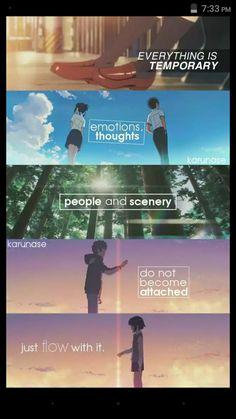 Kimi No Na Wa || Anime Quotes