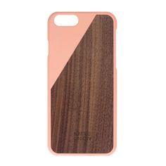 Wodnut | CLIC iPhone 6 Case Walnut Wood Blossom