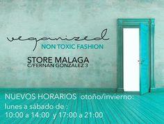 horarios store Málaga