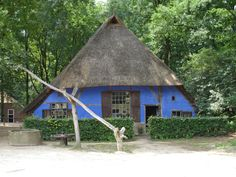 Traditional farmhouse at Openluchtmuseum Arnhem - The Netherlands.