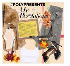 """#PolyPresents: New Year's Resolutions"" by jovaankaa on Polyvore featuring Alexander McQueen, Alexander Wang, Moschino, contestentry and polyPresents"