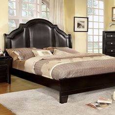 Furniture Of America,Bristol California King Bed Collection - CM7686CK