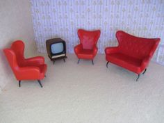 Triang dolls house furniture
