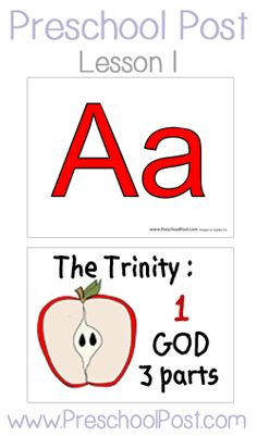 Letter A: Free Bible Lesson Plan...includes story, snack ideas, printables, etc.