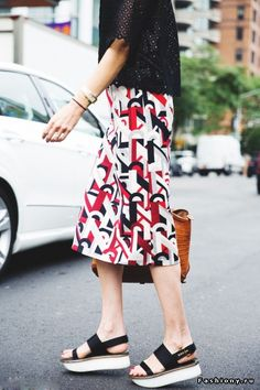 New York Fashion Week 2015-Street style