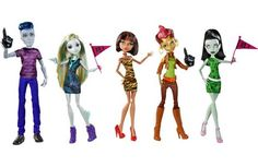 Import Monster High doll Doll Monster High We Are Monster High 5 Pack Featuring Slo Mo Cleo De Nile Lagoona Blue Scarah Screams and Gilda Goldstag [parallel import goods] New Monster High Dolls, Love Monster, Monster Girl, Toys R Us, Novi Stars, Barbie, Thing 1, High Five, Child Doll