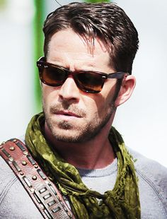 Sean Maguire on set of OUAT 7/18/2014