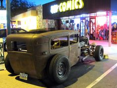 Randall RatRod - Built in 5 months by a 29 year old chick.