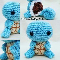 I choose you, Squirtle!   Order your Poke-pall today: www.etsy.com/au/shop/CrochetedbyBekk  #CrochetedbyBekk #Pokemon #PokemonGo #Wip #Nintendo #Amigurumi #Crochet #CrochetersOfInstagram #CrochetAddict #CrochetEveryday #NeedleFelting #FiberArt #Yarn #BekksPokerumis #GottaCrochetEmAll #likeforlikealways #Squirtle #Handmade #Kawaii #Chibi #Plush #CustomCrochet #Oras #FanArt #Gaming #PokemonGifts #Love #Crafts #Anime #Etsy