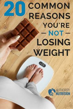 This article lists 20 common reasons why you're not losing weight. Many people stop losing before they reach a weight they are happy with. Learn more here: http://authoritynutrition.com/20-reasons-you-are-not-losing-weight/