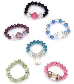 Diy Beaded Rings, Handmade Beaded Jewelry, Diy Rings, Handmade Jewelry Designs, Handmade Rings, Wire Jewelry, Jewelry Rings, Jewelery, Beaded Bracelets