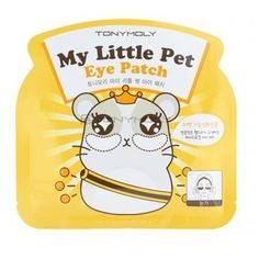 TONYMOLY My Little Pet Eye Patch: Hydro gel patch that takes care of the eyes intensively to create transparent and bright skin. Green tea extract offers moisture to remain moisturized and smooth skin.