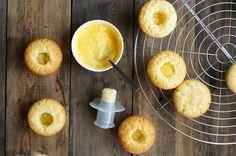 Лимонное блаженство - капкейки с курдом и пышным кремом - Andy Chef - блог о еде и путешествиях, пошаговые рецепты, интернет-магазин для кондитеров