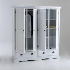 Armoire-penderie/lingère 5 portes + miroirs + 5 tiroirs Home Affaire ...