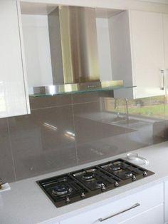 Kitchen Tiles Splashbacks image result for dark grey large tile kitchen splashback | splash