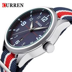 2015 Hot! CURREN Men Fashion Casual Watch Brand Luxury Wristwatches Men Auto Date sports Watches Men's Clock  Relogio Masculino