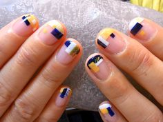 Maybe you have discovered your nails lack of some modern nail art? Yes, recently, many girls personalize their nails with lovely … Sns Nails Colors, Nail Polish Colors, Heart Nail Designs, Nail Art Designs, Beautiful Nail Art, Gorgeous Nails, Thanksgiving Nail Art, Popular Nail Art, Modern Nails