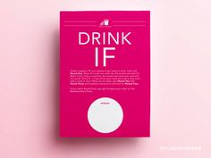 Bachelorette party game Drink If... for girls night out - Bachelorette Game