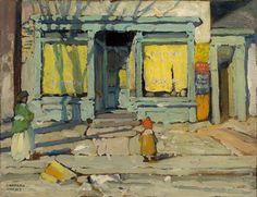 Lawren Harris, 'Saturday Morning' at Mayberry Fine Art 10.5 x 13.75 (1920)