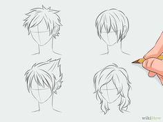 Draw Manga Hair Step 2 Version 4.jpg
