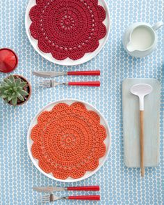 Love to make these as everyday placemats... one day!