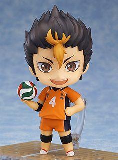 Amazon.com: Good Smile Haikyuu!!: Yu Nishinoya Nendoroid Action Figure: Toys…