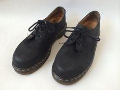 Vintage Black Dr Martens UK 4 US 6 by Baxtervintage on Etsy, $55.00