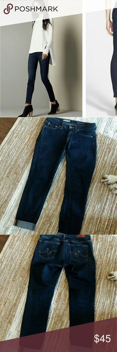 Adriano Goldschmidt jegging jeans Like new jeans can be rolled up just like the picture Adriano Goldschmidt Jeans