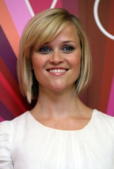 Bob with Bangs - Reese Witherspoon #shorthairstyles #celebstyle