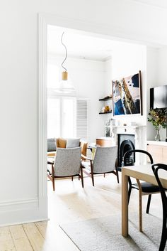 This Victorian Renovation Is the Definition of Chic via @MyDomaineAU