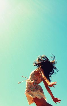 jump; be free...
