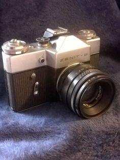Zenit-B, Vintage Camera, USSR, Vintage Photography, Camera Lens, Helios Lens, Leather Case, Imaging, Single Lens Reflex, 35mm Camera by TillyofBloomsbury on Etsy