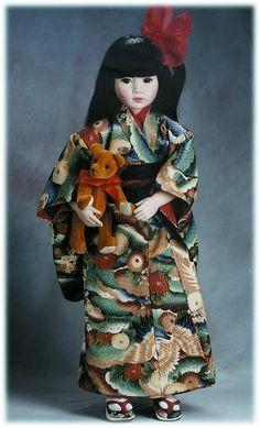 Miyoko, a Pauline doll
