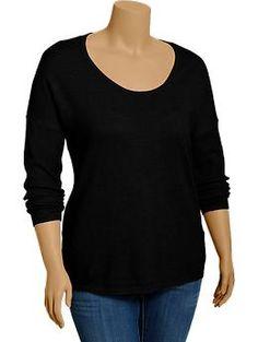 Women's Plus Scoop-Neck Sweaters | Old Navy