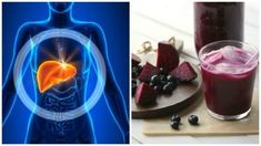 Support the detoxification of your liver with this blueberry and beet smoothie Alcohol Dependence, Detox Your Liver, Liver Disease, Stress, Smoothies, Smoothie Detox, Beetle, Health Tips, Blueberry