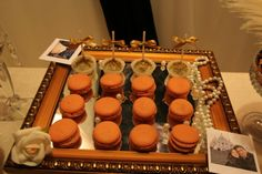 Macarons and cakepops! Night in Paris! ♡