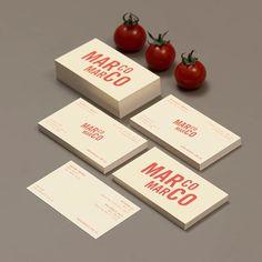 Marco Marco by @acresg  #logo #branding #italian #pasta #restaurant #fast #brandidentity #logotype #graphicdesign #typography #menu #design #print #contemporary #studio