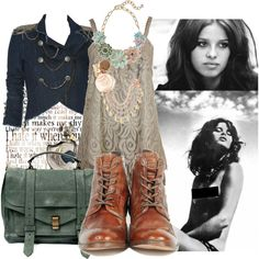 """""""50 Muses: Uschi Obermaier [7/50]"""" by stairwaytocalifornia on Polyvore"""