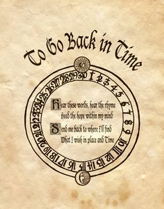 "Book of Shadows:  ""To Go Back In Time,"" by Charmed-BOS, at deviantART."