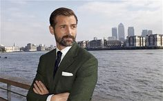 Is it wrong that I am having rude thoughts about Patrick and his tape measure? #greatbritishsewingbee #patrickgrant